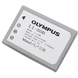 Olympus® LI-80B Lithium-Ion Digital Camera Battery; 650 mAh, for T-100 Digital Camera (202431)