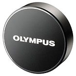 Olympus® LC-61 Lens Cap for Macro Zuiko Digital ED 75 mm 1:1.8 Lens; Black