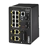 Cisco™ IE-2000-8TC-L 8 Port Fast Ethernet Rail-Mountable Managed Switch; Black