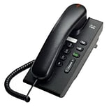 Cisco™ CP-6901-CL-K9 Single-Line Unified IP Phone with Slimline Handset; Corded, Office Phones, Char