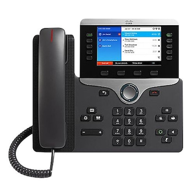 Cisco(tm) 8861 5-Line IP Phone, Corded, Office