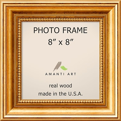 Amanti Art  Townhouse Gold Wood Photo Frame 8 x 8  (DSW1385298)