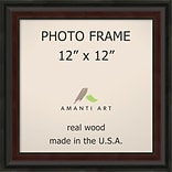 Amanti Art  Mahogany Fade Wood Photo Frame 12 x 12 (DSW1396500)