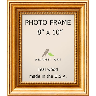 Amanti Art  Townhouse Gold Wood Photo Frame 8 x 10 (DSW1385297)
