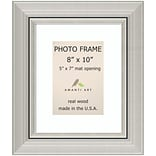 Amanti Art  Romano Silver Wood Photo Frame 8 x 10 (DSW1385369)