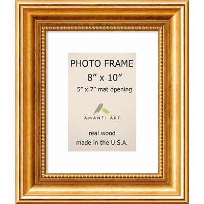 Amanti Art  Townhouse Gold Wood Photo Frame 8 x 10 (DSW1385313)