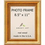 Amanti Art Townhouse Gold Wood Photo Frame 8.5 x 11 (DSW1385299)