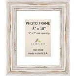 Amanti Art  Alexandria Whitewash Wood Photo Frame 8 x 10 (DSW1385440)