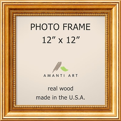 Amanti Art  Townhouse Gold Wood Photo Frame 12 x 12 (DSW1385300)