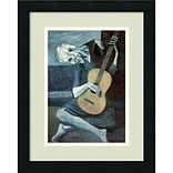 Amanti Art Pablo Picasso The Old Guitarist; 1903 Framed Art Print 14 x 18 (DSW992451)