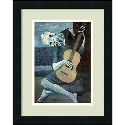 Amanti Art Pablo Picasso The Old Guitarist, 1903 Framed Art Print 14 x 18 (DSW992451)