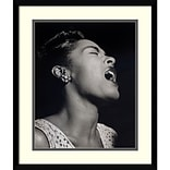 Amanti Art William P. Gottlieb Billie Holiday Framed Art Print 17 x 20 (DSW1418614)