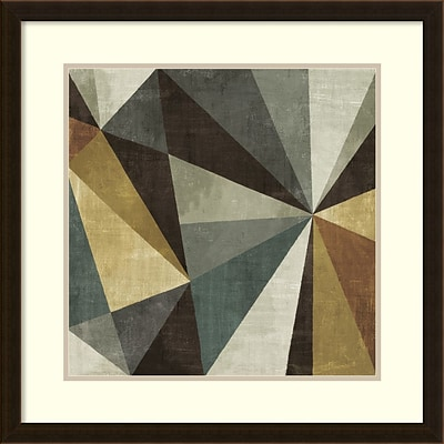 Michael Mullan Triangulawesome Framed Art Print 26 x 26 (DSW14185840)