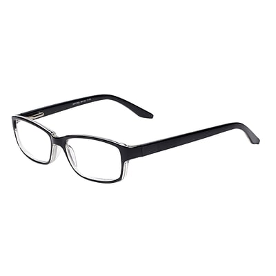 Select-A-Vision Optitek Hi-Tech +2.50 Reading Glasses, Black (EAR7154BK-250)