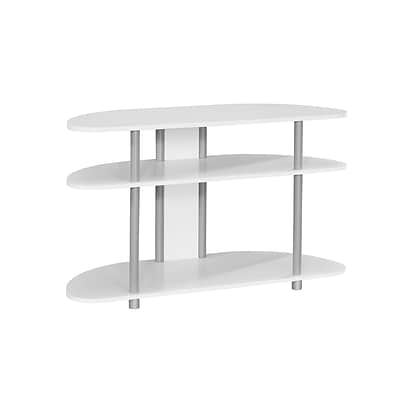 Monarch Specialties TV Stand White (I 2522)