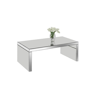 Monarch Specialties Coffee Table In A Mirrored Finish ( I 3715 )