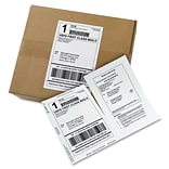 Avery Paper Receipt White Shipping Labels, Permanent Adhesive, 500 Label, 5Wx7.5L, 1/Sheet, Rectan