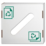 Fellowes® Recycling Bin Lid, For Paper
