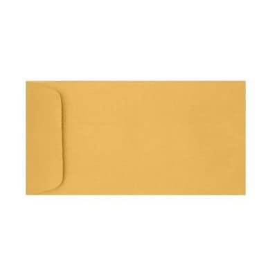 LUX® #14 Open End Envelopes, 5 x 11 1/2, 28 lb. Brown Kraft, 250 Qty (WS-5248-250)