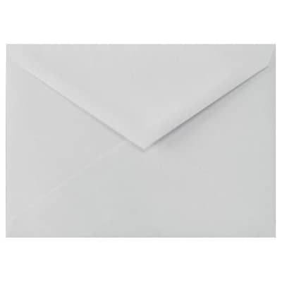 LUX 5 1/2 BAR Envelopes (4 3/8 x 5 3/4) 250/Box, 100% Cotton - Gray (512BAR-SG-250)