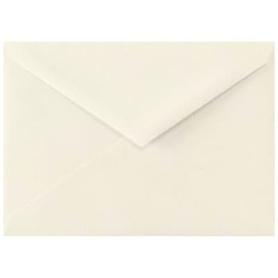 LUX Lee BAR Envelopes (5 1/4 x 7 1/4) 500/Box, Natural Linen (LEEBAR-NLI-500)