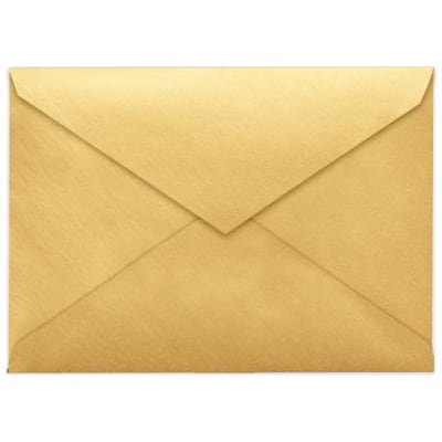 LUX 4 BAR Envelopes (3 5/8 x 5 1/8) 1000/Box, Gold Metallic (4BAR-07-1M)