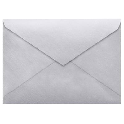 LUX 5 1/2 BAR Envelopes (4 3/8 x 5 3/4) 500/Box, Silver Metallic (512BAR-06-500)