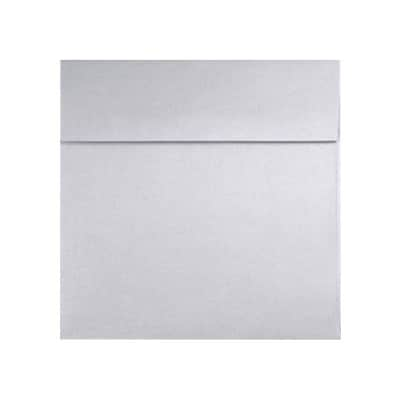 LUX 7 1/2 x 7 1/2 Square Envelopes 500/Box) 500/Box, Silver Metallic (8555-06-500)