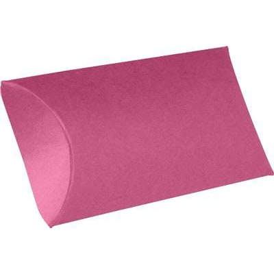 LUX® Small Pillow Boxes, 2 x 3/4 x 3, Magenta Pink, 500 Qty (LUX-SPB-10-500)