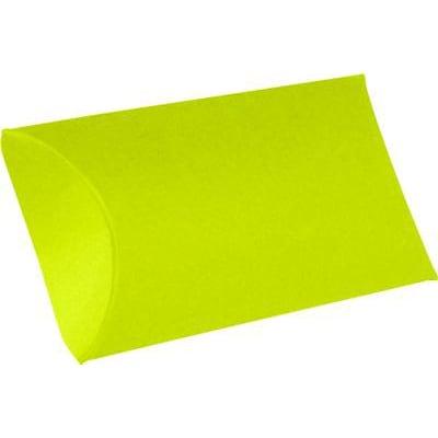 LUX® Small Pillow Boxes, 2 x 3/4 x 3, Wasabi Green, 500 Qty (LUX-SPB-L22-500)