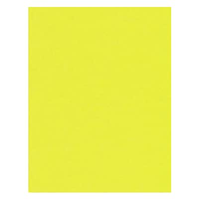 LUX® Paper, 11 x 17, Citrus Yellow, 500 Qty (1117-P-L20-500)