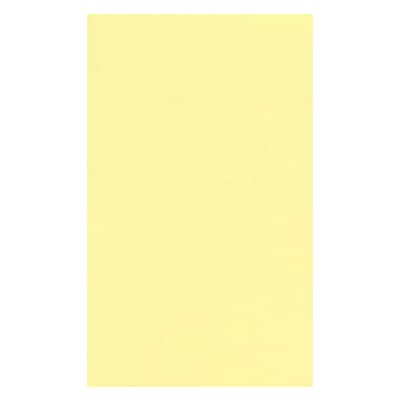 LUX® Paper, 8 1/2 x 14, Lemonade Yellow, 1000 Qty (81214-P-15-1M)