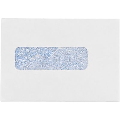LUX® Professional Statement Window Envelopes, 4 1/2 x 6 1/2, 24 lb. White w/ Security Tint, A, 250 Qty (WS-3876-250)