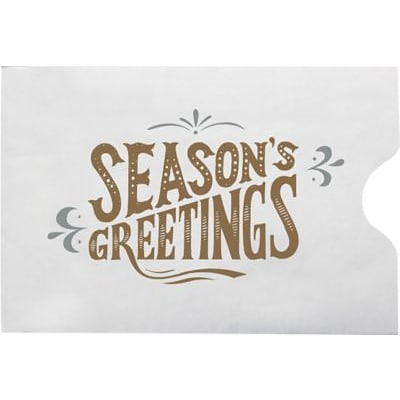LUX Credit Card Sleeve Envelopes (2 3/8 x 3 1/2) 250/Box, Seasons Greetings! (1801-H02-250)
