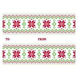 LUX® #17 Mini Gift Card Envelopes, 2 11/16 x 3 11/16, Sweater Pattern, 250 Qty (LEVC-H01-250)