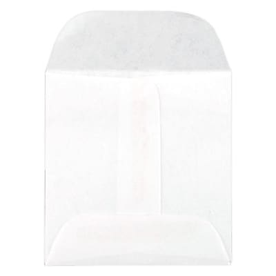 LUX Lens Envelope (2 1/4 x 2 1/4) 1000/Box, 20lb. White (WS-3720-1M)