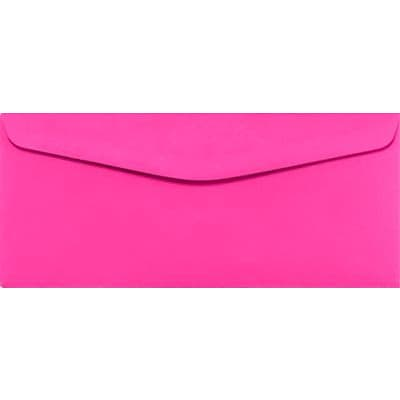 LUX® #9 Regular Envelopes, 3 7/8 x 8 7/8, Bright Fuchsia, 1000 Qty (WS-2043-1M)