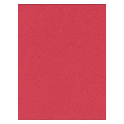 LUX® Paper, 11 x 17, Holiday Red, 50 Qty (1117-P-60T15-50)