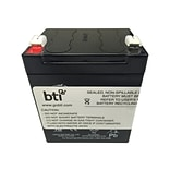 BTI 12 V Replacement Battery for APC BE350 UPS (RBC45-SLA45-BTI)