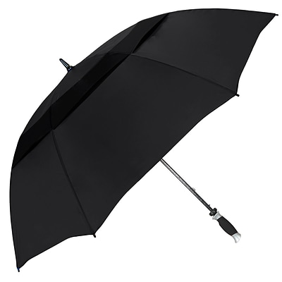 Natico Vented Typhoon Tamer Umbrella 62 Arc Black (60-30-BK)
