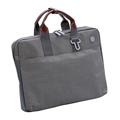Natico Lifestyle Legal Size Brief Case Light Grey (60-CL06S)