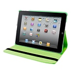Natico iPad Mini 4 Faux Leather 360 Degree Rotating Case 7.9 Green (60-IM4-360-GN)