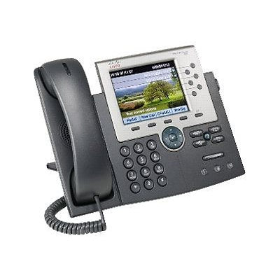 Cisco™ 6 Line Unified IP Phone; Dark Gray/Silver (CP-7965G-CCME)