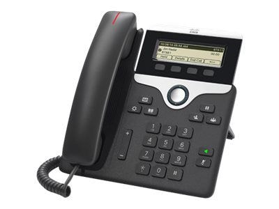Cisco(tm) Wired IP Phone; Black (CP-7811-K9=)