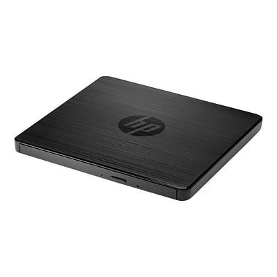 HP® F2B56AA External DVD-Writer Drive; USB, Black