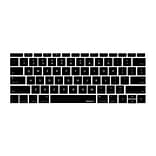 Macally KBGUARDMBBK Keyboard Protector for 12 Macbook; Black