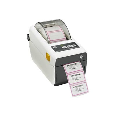 Zebra® Healthcare Monochrome Desktop Direct Thermal Printer; Black/White (ZD41H22-D01E00EZ)