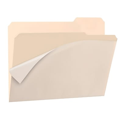 Find It®, Clear View Interior Folders, Letter, 8/Pack, Manila (FT07186)