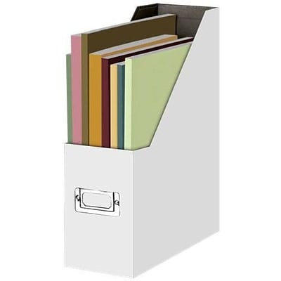 Snap-N-Store®, Letter and Legal File Box, 13 x 4 x 9.875, White (SNS01818)
