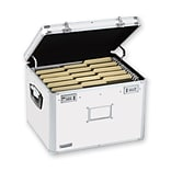 Vaultz®, Locking Storage Chest, Letter/Legal, White (VZ00169)